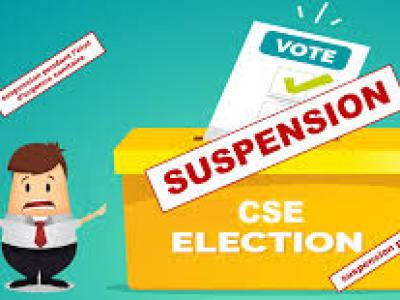 CSE - SUSPENSION DES ELECTIONS - Avocats experts en droit français et international à Paris et en Normandie